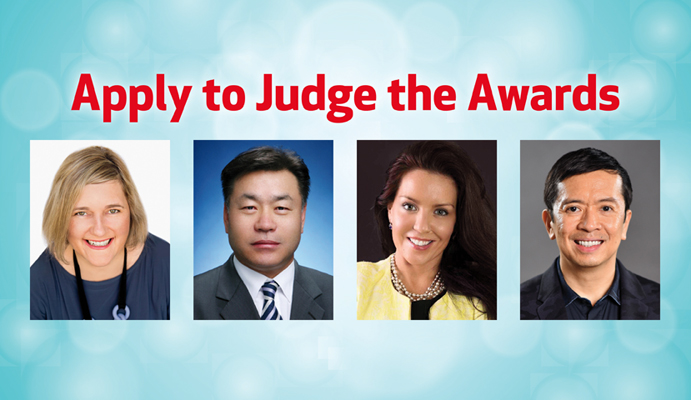 Apply to Judge the Awards